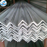 Hair Line Finish V Shaped Angle Steel Bar with 304 316 321 Material