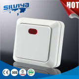 1 Gang 1 Way Switch with Indicator Adjustable Wall LED Light with Switch