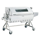 Stainless Steel Gas Rotary Pig Suckling Barbecue Machine