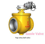 Electric Top Entry Trunnion Mounted Ball Valve (GSQ947F)