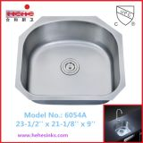 Single Bowl Kitchen Sink, Bar Sink, Stainless Steel Sink (6054)
