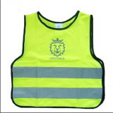 100% Polyester Knitted Safety Children Vest