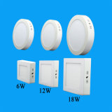 SMD 2835 Surface Mounted LED Ceiling Panel Light 18W