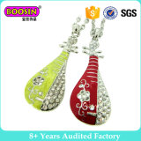 Chinese-Set Lute Instrument Necklace Set