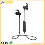 Magnetic Sensor Switch Stereo Bluetooth Earphone with Mic Voice Prompt