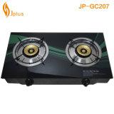 Glass Top Golden Beehive Burner Gas Cooker Jp-Gc207