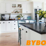Customized Modern White High Glossy Lacquer Wooden Wholesale Kitchen Furniture (BY-L-158)
