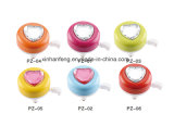Colorful Alloy Bicycle Mini Bell with Jewel Design (HEL-224)