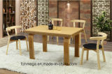Solid Wood Restaurant Dining Table Pictures