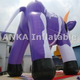 Giant 15m Inflatable Cartoon Character Dairy Cow