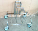 Metal Display Shelf/Display Rack /Exhibition Stand with Four Wheels (DR-32)