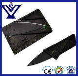 Mini Credit Pocket Camping Stainless Steel Card Knife Hunting/Survival Knife (SYSG-284)