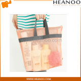 Large Shopper Reusable Designer Travel Tote Mesh Beach Bag Handbags