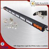240W CREE Single Row LED Light Bar Amber&White