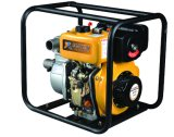 4 Inch High Quality Diesel Water Pump with Key /Recoil Start