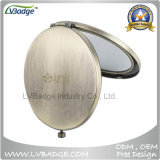 Promotional Metal Compact Mirror for Laser Logo