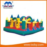 Funny Bouncy Castle, Amusement Park Type Inflatable Paradise China