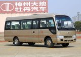 100km / H Stocked City Coaster Mini Bus with Left Drive Hand