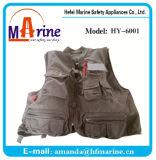 Inside Inflating Life Jacket with 4 Big Pockets