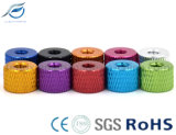 Knurling 6061 Aluminum Alloy Anodized Hand/Thumb Nut