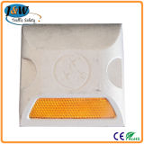 High Reflective Single Lens Yellow Aluminium Road Stud