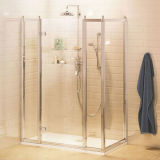 Traditional Style 2 X Inline Panel & Side Panel Hinged Shower Door Shower Room