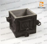 Cast Iron Four Parts Concrete Cube Mould