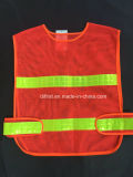 CE Certified Reflective Safety Vests with PVC Tape