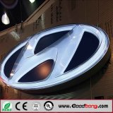 LED Lighting Car Logo with Their Names for Dealership