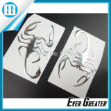 Motorcycle Chrome Scorpion Animal 3D Soft Gel for Cars