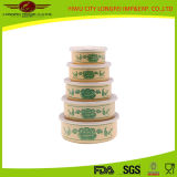 Hot Sale 5sets Ice Bowl with Plastic Lid