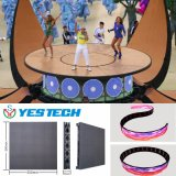 Light Weight 3.9mm Full Color LED Curtain Display Screen