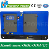 Standby Power 82.5kw/105kVA Soundproof Power Diesel Generation with Shangchai Sdec Engine