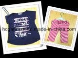 Baby Clothing Kids Sport Suit for Girl, Shirt and Leggings