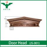 Luxury Oval Glass Entry Door Villa Door Header
