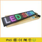 Programmable Asynchronous LED Scrolling Message Display