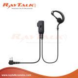 2 Wire Surveillance Kit with Ear Hook Earpiece