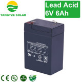 Free Shipping EV 6V 6ah Sealed Lead Acid Battery