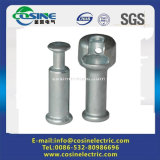 Polymeric Insulators Fittings of Forged Steel Socket Ball/Pole Line Hardware