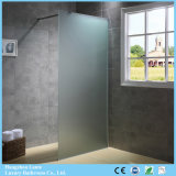 Modern Design Frosted Glass Shower Screen with Cheap Price (9-3490-F)