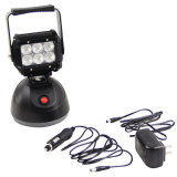 Waterproof 18W, 12V LED Magnetic Work Light with Battery