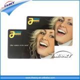 13.56MHz Gold and Silver Silk Screen Printing Google Play Gift PVC Card
