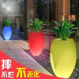 16 Color Changing Plastic Garden Furniture LED Cheap Flower Pots