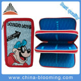New School Student Polyester Pen Case Pencil Box Stationery Bag