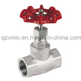 Threaded Screwed Non-Ring Stem Globe Valve 200psi (PN16) Investment Casted Stainless Steel