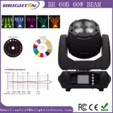 Compact Mini 60W Beam Moving LED Lights for DJ Show