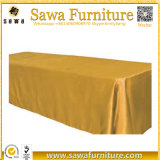 Factory Champagne Rectangular Sequin Table Cloth for Wedding