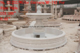 White Cararra Stone Sculpture Marble Fountain   (SY-F743)