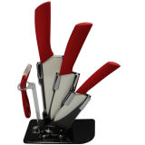 Villa Ceramic Zirconium Kitchen Cutlery Set (SS2013KS31)