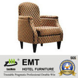 Wooden Frame Hotel Leisure Chair (EMT-016)